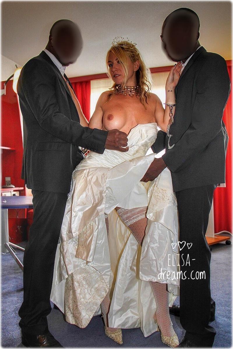 Ma femme et ses témoins de mariage